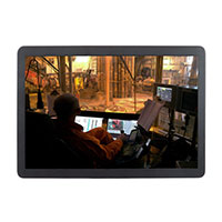 WMR240BRU(S)A | 24-inch Resistive Industrial Touch Screen Monitor