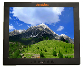 17 Inch Resistive USB Touchscreen Monitor