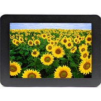 RLM101E | 10.1 inch High Bright Rugged Metal-Enclosed LED Monitor