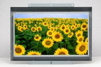 16:9 aspect ratio open frame monitor